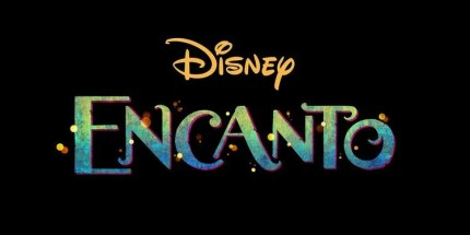 Title logo for ENCANTO (2021), the 60th animated feature from Walt Disney Animation Studios.