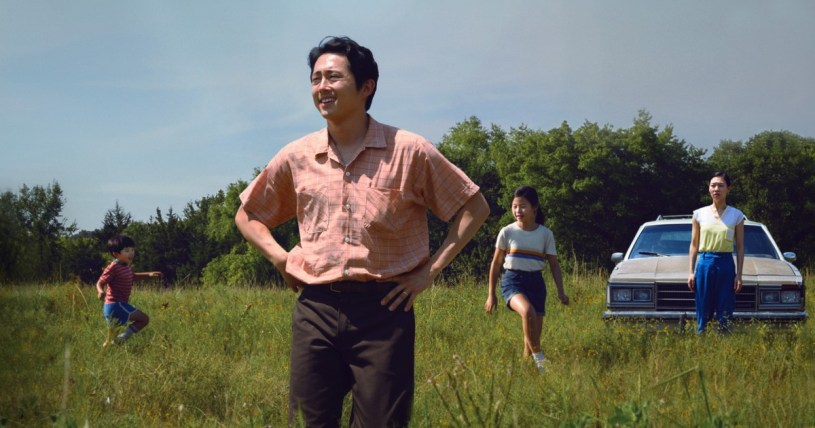 Steven Yen stars as the father of a Korean immigrant family to rural America in the 1980s, in MINARI (2020)