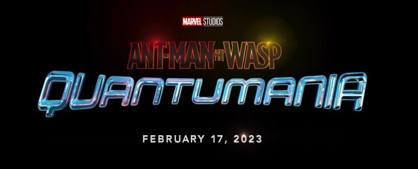 ANT-MAN AND THE WASP: QUANTUMANIA Logo Title and Date