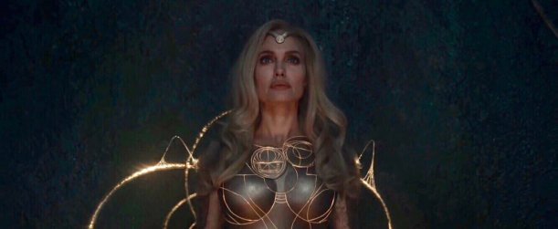 Angelina Jolie stars as Thena in Marvel's ETERNALS (2021)