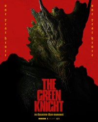 Character Poster for The Green Knight (Ralph Ineson) in David Lowery's adaptation of the medieval poem THE GREEN KNIGHT (2021)