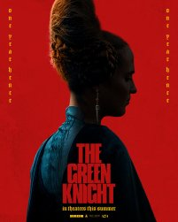 Character Poster for Lady Essel (Alicia Vikander) in David Lowery's adaptation of the medieval poem THE GREEN KNIGHT (2021)