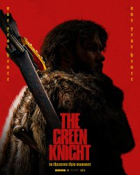 Character Poster for Lord (Joel Edgerton) in David Lowery's adaptation of the medieval poem THE GREEN KNIGHT (2021)