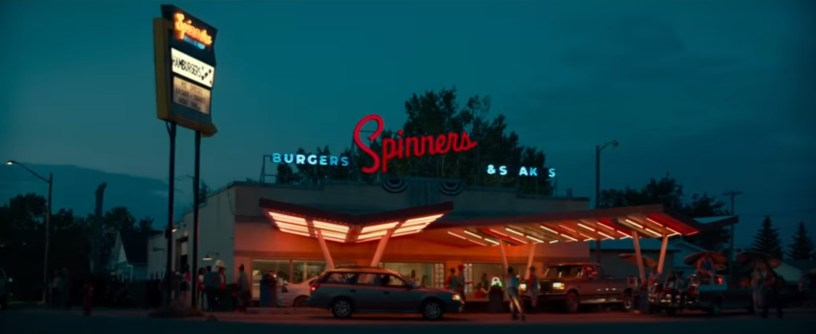 A diner in small town Oklahoma, in the franchise reboot GHOSTBUSTERS: AFTERLIFE (2021)
