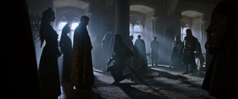 Ben Affleck and Adam Driver co-star in Ridley Scott's medieval French epic THE LAST DUEL (2021)