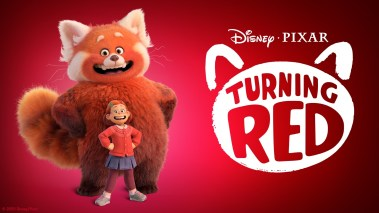 Banner Poster for Pixar's TURNING RED (2022)
