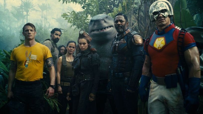 A band of arch-villains band together to fight evil in writer/director James Gunn's reboot of DC's THE SUICIDE SQUAD (2021)