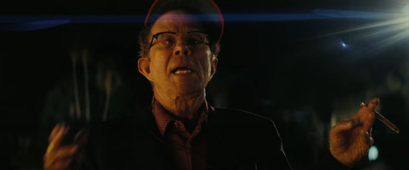 Tom Waits co-stars as a Hollywood director in director Paul Thomas Anderson's LICORICE PIZZA (2021)