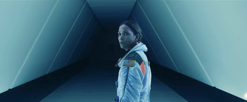 Halle Berry stars as NASA exec and former astronaut in Roland Emmerich's sci-fi disaster flick MOONFALL (2022)