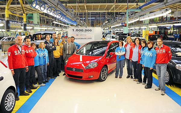 Een miljoen Fiat Grand Puntos