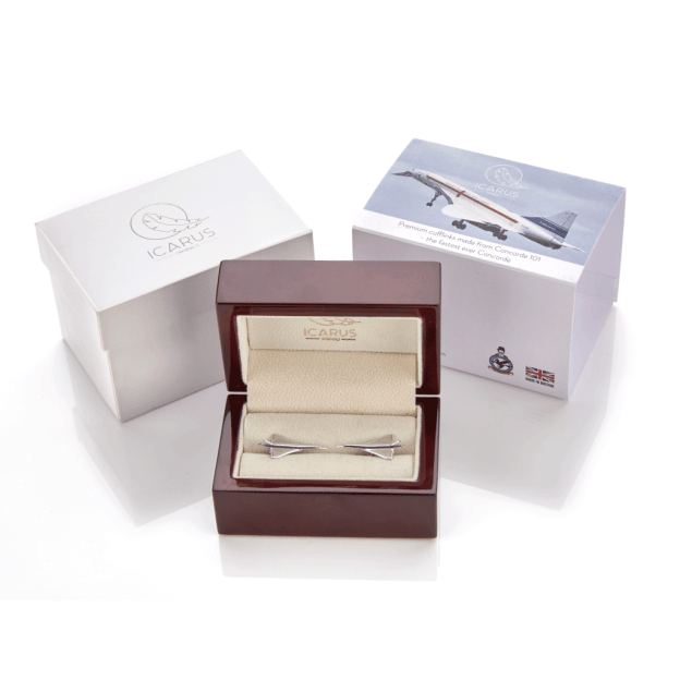 Concorde Cufflink Gift Set made from Concorde Aluminium