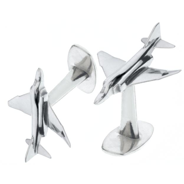 F4 Phantom II XT907 Cufflinks reclaimed aluminium