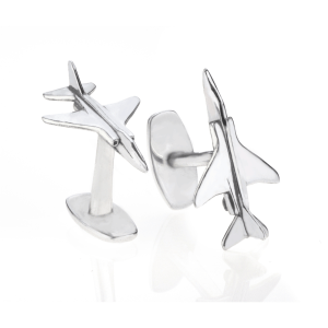 F4 Phantom XT907 II Cufflinks made using reclaimed aluminium