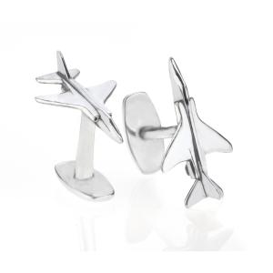 F4 Phantom XT907 II Cufflinks made using reclaimed aluminium