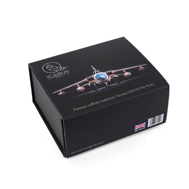ZG750 Tornado GR4 Pinky Cufflink gift set