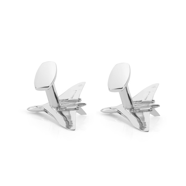Avro Vulcan XH558 Cufflinks made from Vulcan Aluminium