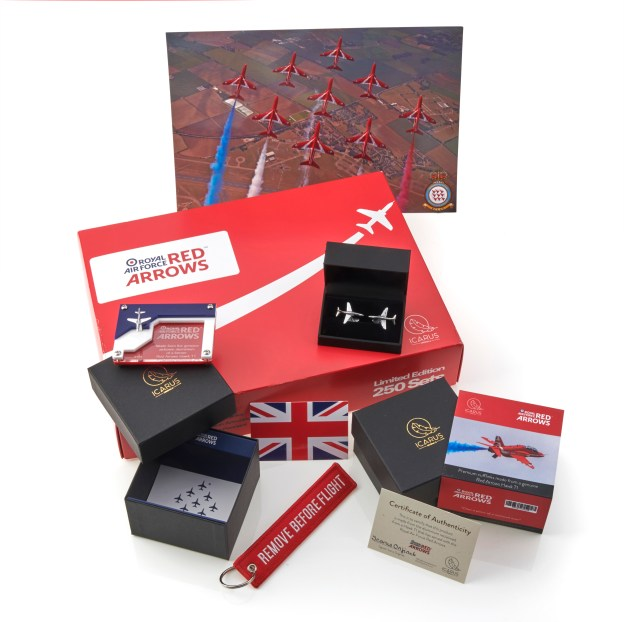 Red Arrows Box Set reclaimed aluminium