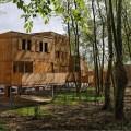 cimentación suspendida casas madera