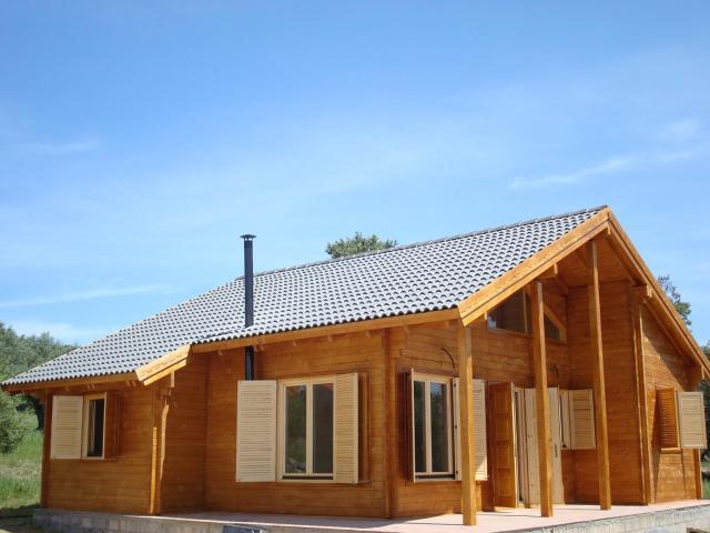 Casa de madera de 108m2