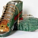esculturas residuos electrónicos