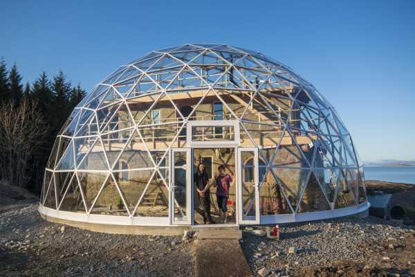 casa domo solar en Noruega