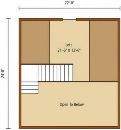 casa de madera de 73m2