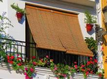 persiana de madera para exterior