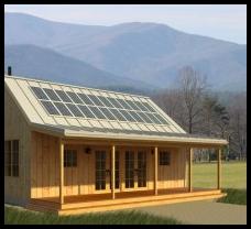paneles solares para producir electricidad