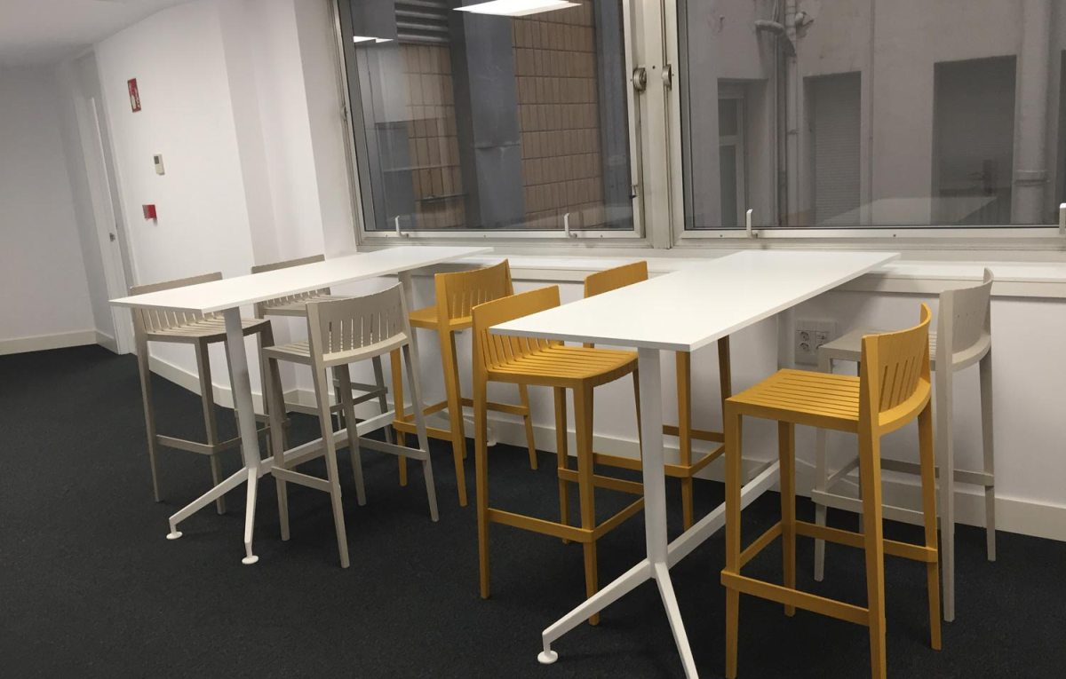 mobiliario office en Implika Bilbao