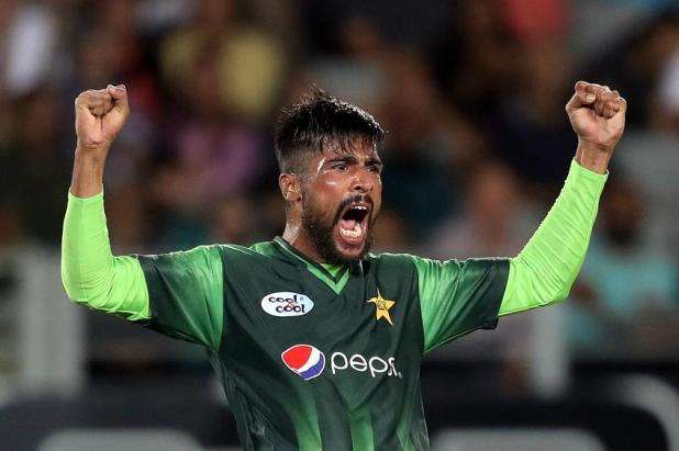 Mohammad Amir has lifted 15 places to 12th position in the bowlers' list