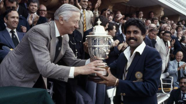 Image result for 1983 cricket world cup final