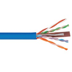 ICC 500Mhz CAT6 Bulk Cable with 23 AWG UTP Solid Wires, CMP Jacket in a Pull Box, 1000 Feet ICCABP6VBL