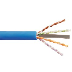 ICC 650MHz CAT6A Bulk Cable with 23 AWG UTP Solid Wires, CMP Jacket in a Pull Box, 1000 Feet ICCABP6ABL
