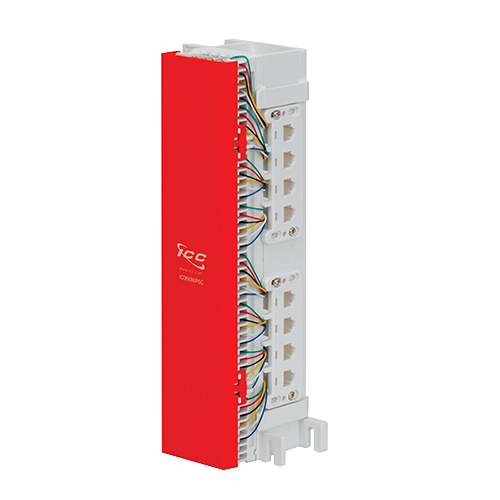 66 Wiring Block Pre-wired with 12 Voice 6P4C Ports - IC06626P4C