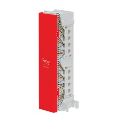66 Wiring Block Pre-wired with 6 Voice 6P6C Ports - IC06686P6C