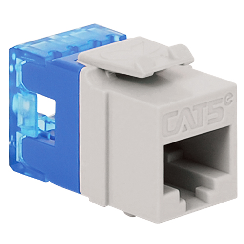 CAT5e RJ45 Keystone Jack for HD Style