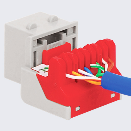 CAT6 RJ45 Keystone Jack for EZ® Style