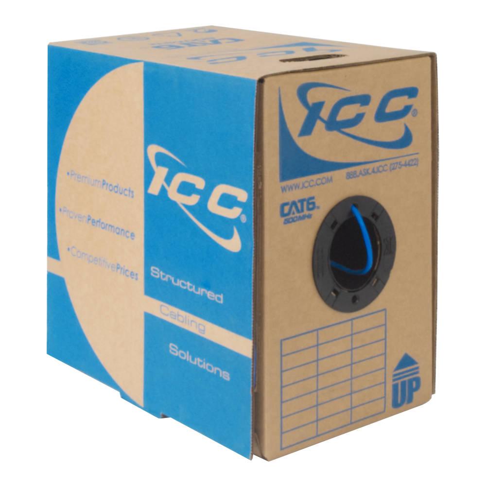 CAT6 Bulk Cable UTP Plenum ICCABP6VBL