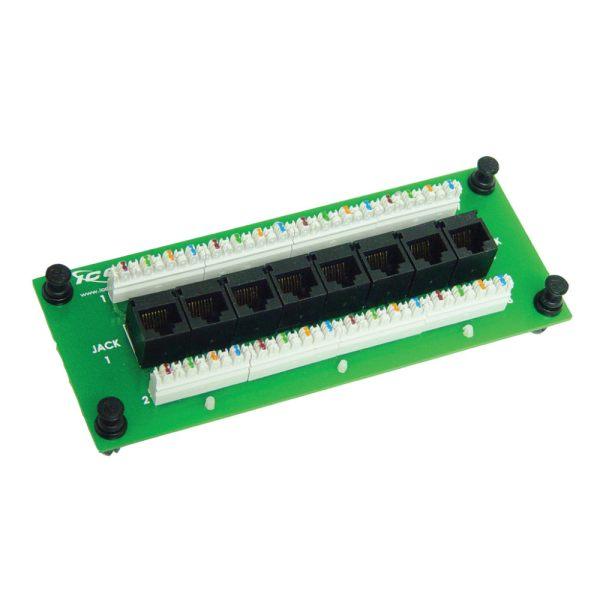 Data Module CAT 5e with 8 Ports ICRESDPA3D