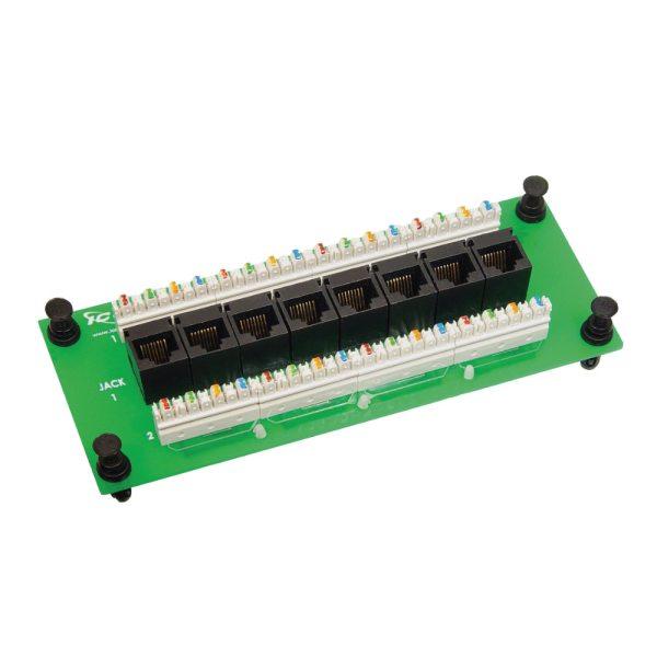 Data Module CAT6 8 Ports ICRESDPB3D