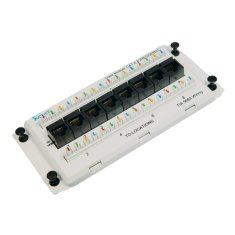 Data Module Deluxe Series CAT 6 with 8 Ports ICRESDPB2C