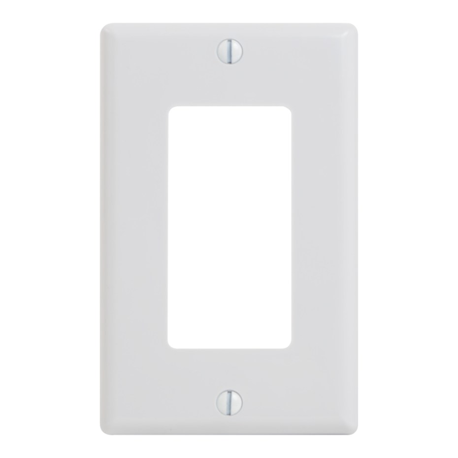 Decorex Faceplate 1 Insert Space Single IC107DFSWH