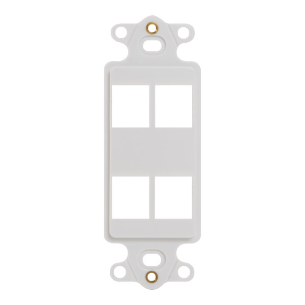 Decorex Insert 4 Ports IC107DI4WH