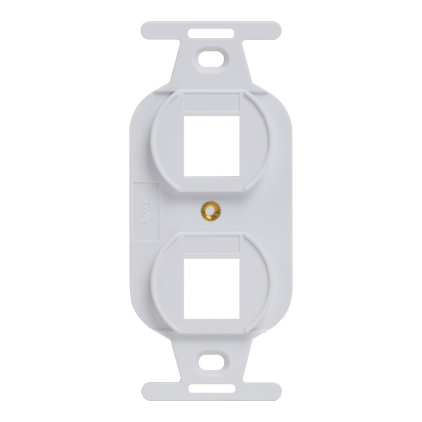 Electrical Insert 2 Ports Style IC107DPIWH