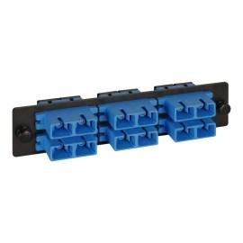 LGX Adapter Panel 6 Duplex SC Blue ICFOPC26BK
