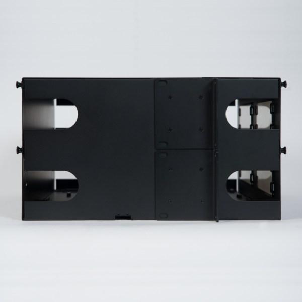 LGX Fiber Optic Rack Mount Enclosure 12 Panels 4 RMS Side ICFORET4RM