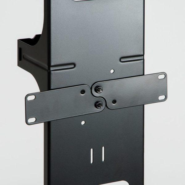 Vertical Metal Channel 7 Foot Rack 2 Sets Close Up 3 ICCMSC40BK
