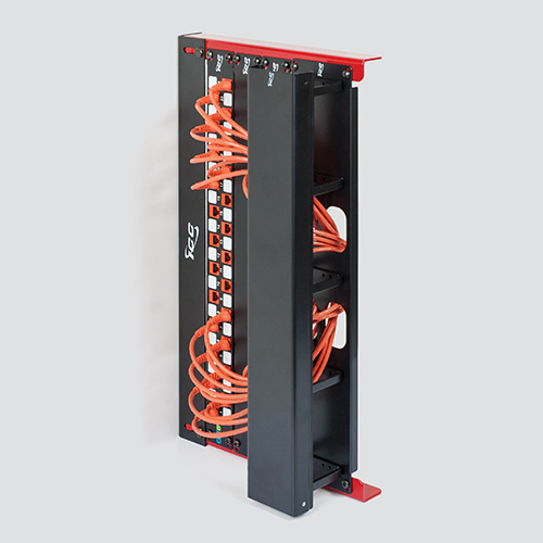 Wall Mount Utility Rack in 5 RMS