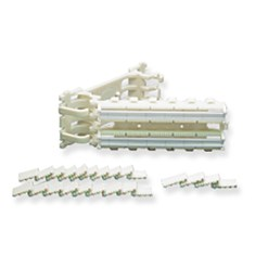 110 Cat 5e Wiring Block Kit with Hinged and 100 Pair