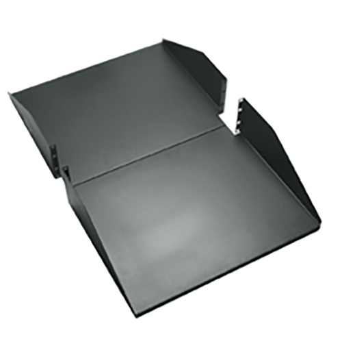 "30"" Deep Double Sided Rack Shelf with 3 RMS"